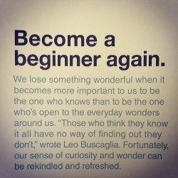 beginner-again
