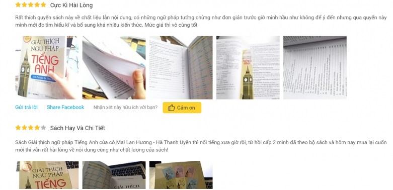 Đánh giá giải thích ngữ pháp tiếng anh Mai Lan Hương